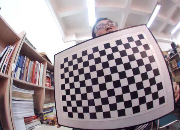 SWARD (Super-Wide-Angle-lens Radial Distortion correction) camera